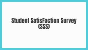 Student Satisfaction Survey