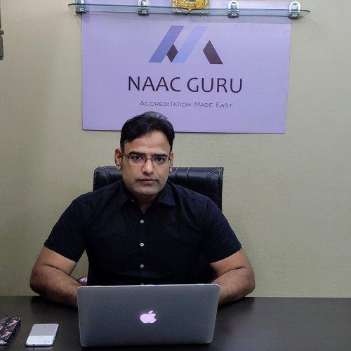 Rajkumar Vyas, Director NAAC GURU
