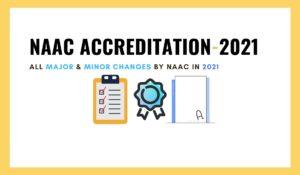 NAAC Accreditation 2021